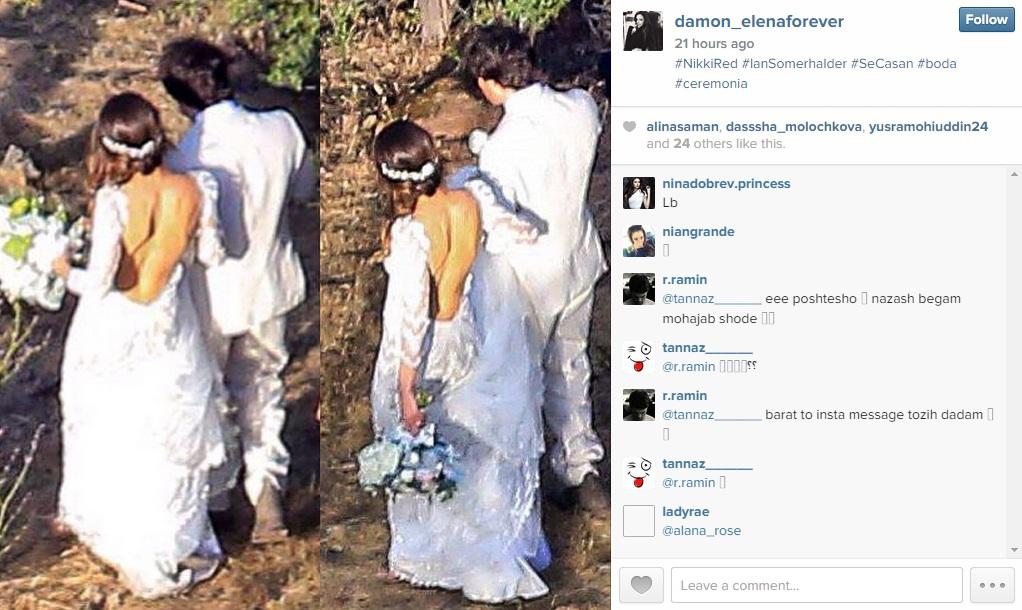 Nikki reeds wedding dress was stunning pictures junglespirit Images